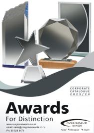 Cosgrave Awards corporate catalogue