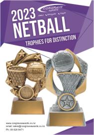 Cosgrave Awards netball catalogue